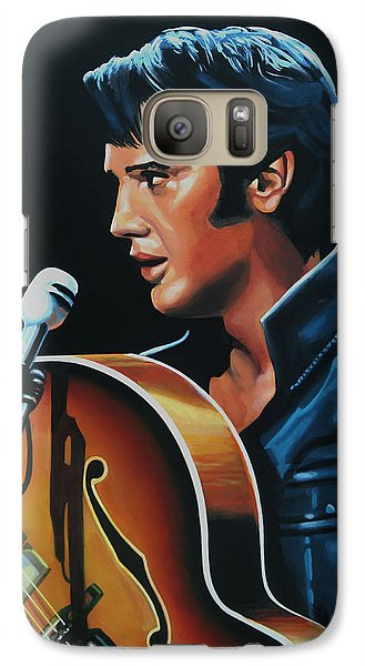 Elvis Presley 3 Painting Galaxy S7 Case