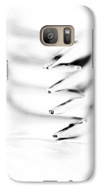 Galaxy Case featuring the photograph Embrace II by Wade Brooks