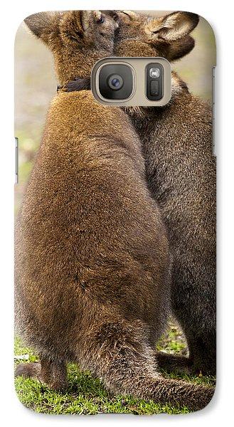 Kangaroo Galaxy S7 Case - Embrace by Mike  Dawson
