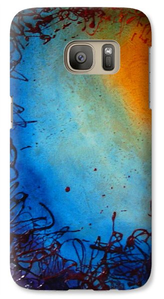 Galaxy Case featuring the painting Embryonic Journey by Stuart Engel