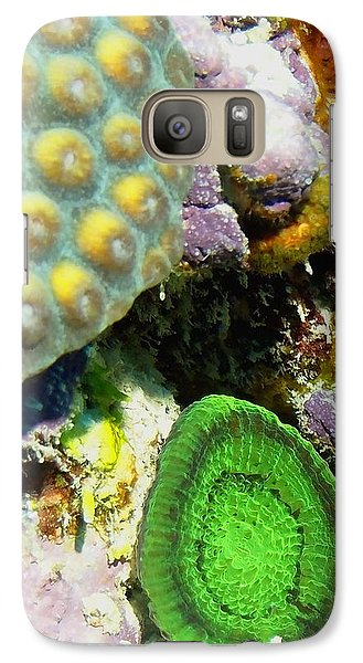 Galaxy Case featuring the photograph Emerald Artichoke Coral by Amy McDaniel