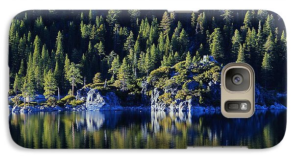 Galaxy Case featuring the photograph Emerald Bay Teahouse by Sean Sarsfield