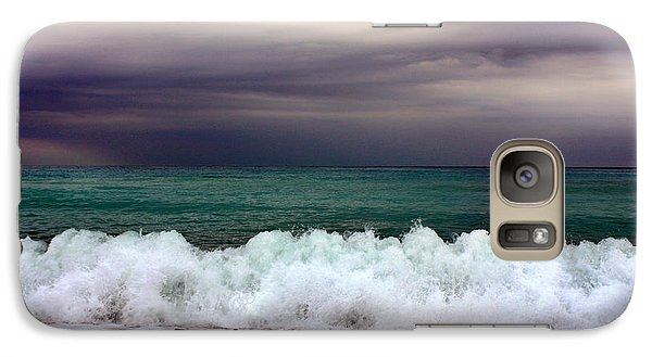 Galaxy Case featuring the photograph Emerald Sea by Martina  Rathgens