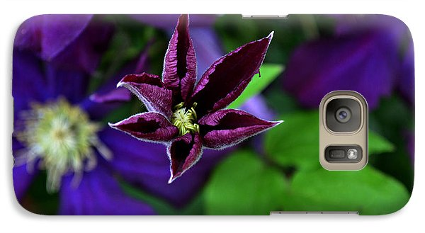 Galaxy Case featuring the photograph Emergent by Mary Zeman