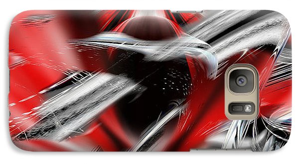 Galaxy Case featuring the digital art Emerging From Space by rd Erickson