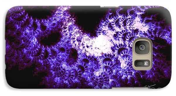 Galaxy Case featuring the digital art Emerging Id by Steed Edwards