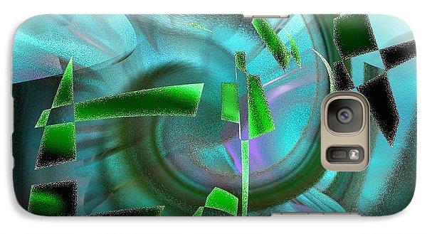 Galaxy Case featuring the digital art Emerging by rd Erickson