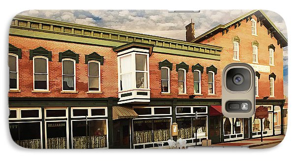 Galaxy Case featuring the photograph Emmitt House At Emmitt Avenue by Jaki Miller