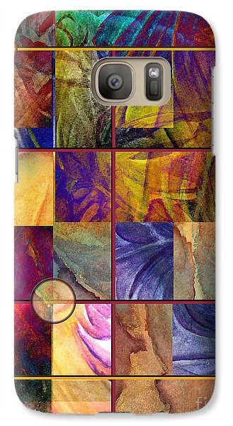 Galaxy Case featuring the painting Emotive Tapestry by Allison Ashton