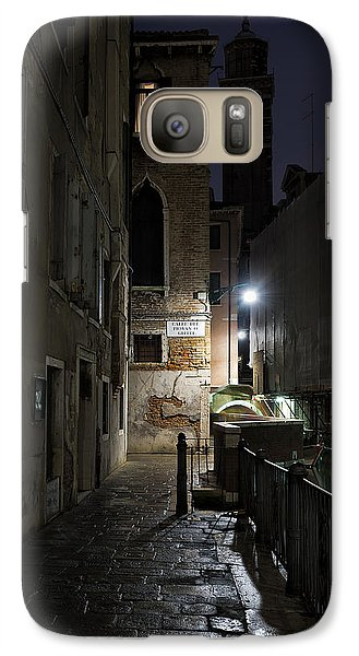 Galaxy Case featuring the photograph Empire Of Venetian Light by Marion Galt