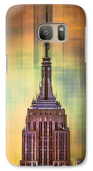 Empire State Building 3 Galaxy S7 Case by Az Jackson