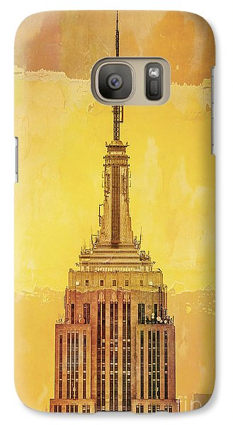 Empire State Building 4 Galaxy S7 Case by Az Jackson