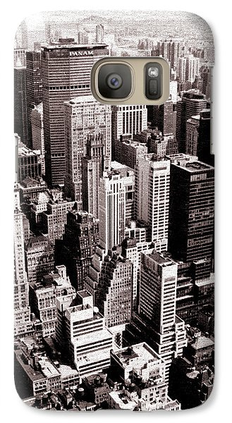 Galaxy Case featuring the photograph Empire's View by Christopher McKenzie