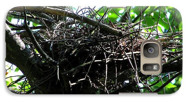 Galaxy Case featuring the photograph Empty Nest by Kimberly Mackowski