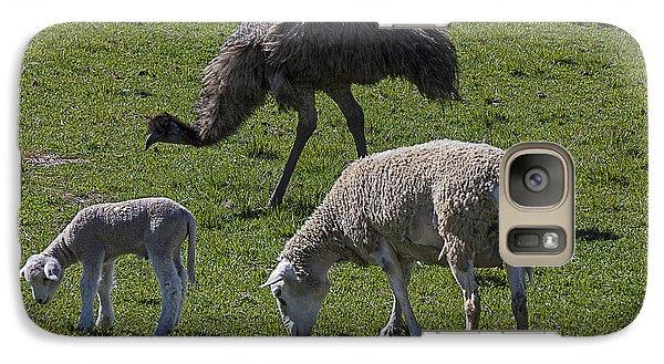 Emu And Sheep Galaxy S7 Case