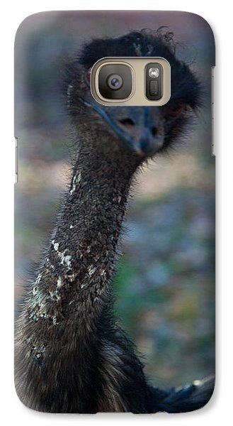 Galaxy Case featuring the photograph Emu by Carole Hinding