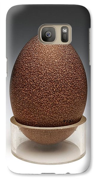 Emu Egg Galaxy S7 Case by Ucl, Grant Museum Of Zoology