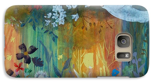 Galaxy Case featuring the painting Encantador by Robin Maria Pedrero