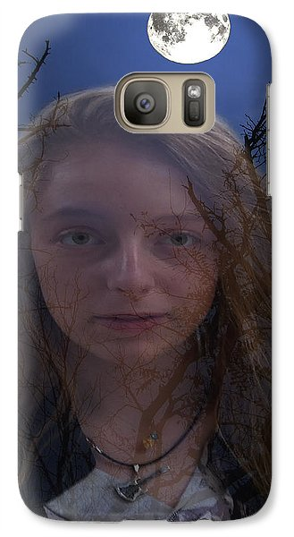 Galaxy Case featuring the digital art Enchanted by Eric Kempson