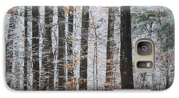 Galaxy Case featuring the photograph Enchanted Forest by Linda Segerson