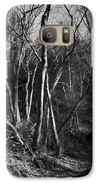 Galaxy Case featuring the photograph Enchanted Forest by Yulia Kazansky