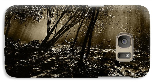 Galaxy Case featuring the photograph Enchanted Wood by Simona Ghidini