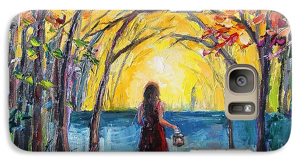 Galaxy Case featuring the painting Enchanted by Jennifer Beaudet