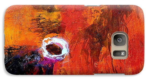 Galaxy Case featuring the painting Encounter by Jim Whalen