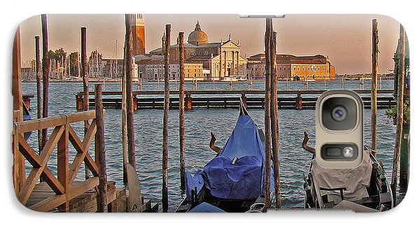 Galaxy Case featuring the photograph Venice End Of A Day by Walter Fahmy