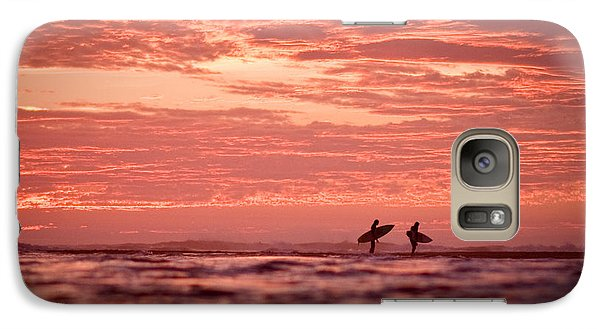 Galaxy Case featuring the photograph End Of A Perfect Day by Paul Topp