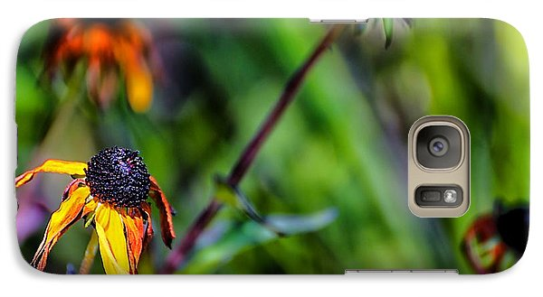 Galaxy Case featuring the photograph End Of Summer by Beth Akerman