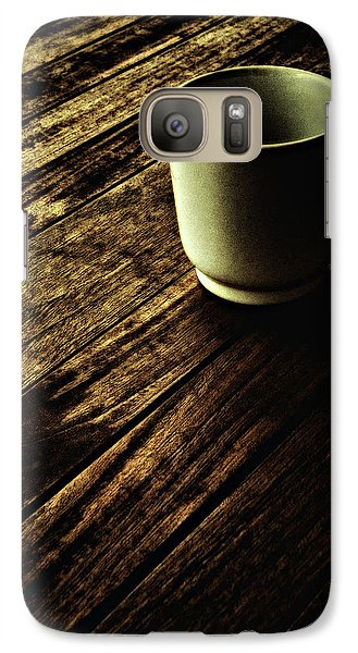 Galaxy Case featuring the photograph End Of The Day ... by Chuck Caramella