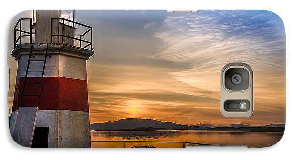 Lighthouse Crinan Canal Argyll Scotland Galaxy S7 Case