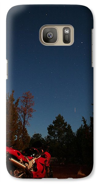 Galaxy Case featuring the photograph End Of The Day by David S Reynolds