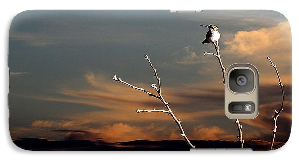 Galaxy Case featuring the photograph End Of The Day by John Freidenberg