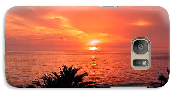Galaxy Case featuring the photograph End Of The Day by Mariarosa Rockefeller