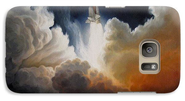 Space Ships Galaxy S7 Case - Endeavour by Lucy West