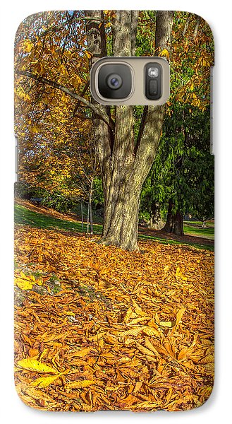 Galaxy Case featuring the photograph Ending Of Fall by Bob Noble Photography