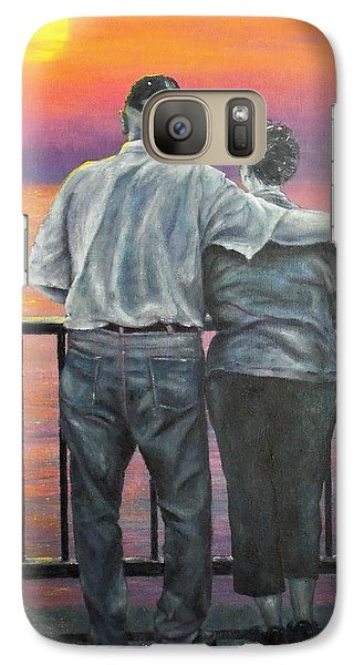 Galaxy Case featuring the painting Endless Love by Susan DeLain