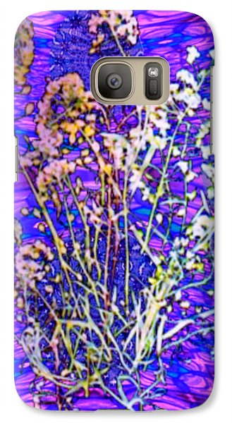 Galaxy Case featuring the digital art Endless Possibilities by Ray Tapajna