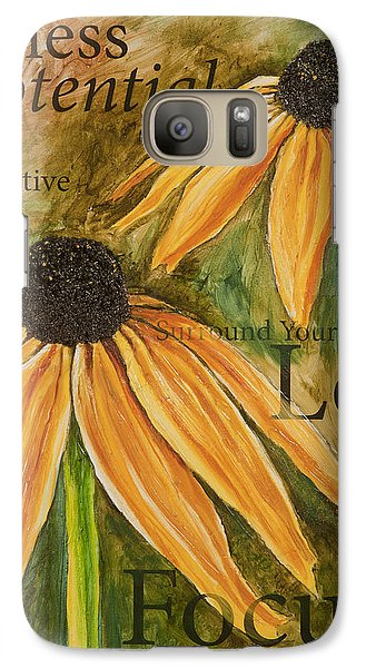 Galaxy Case featuring the painting Endless Potential by Lisa Fiedler Jaworski