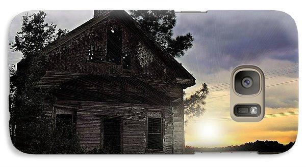 Galaxy Case featuring the photograph Enduring Faith by Laura Ragland