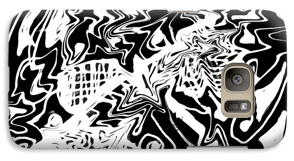 Galaxy Case featuring the drawing Energy From Within by Patricia Januszkiewicz