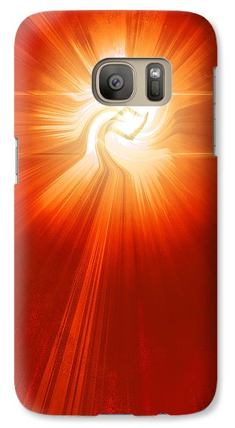 Galaxy Case featuring the photograph Energy Warp by Kellice Swaggerty