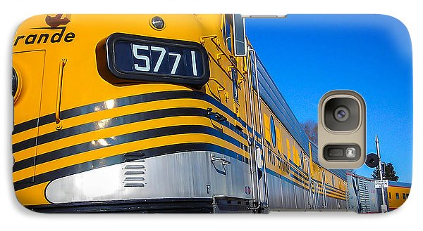 Galaxy Case featuring the photograph Engine 5771 by Shannon Harrington