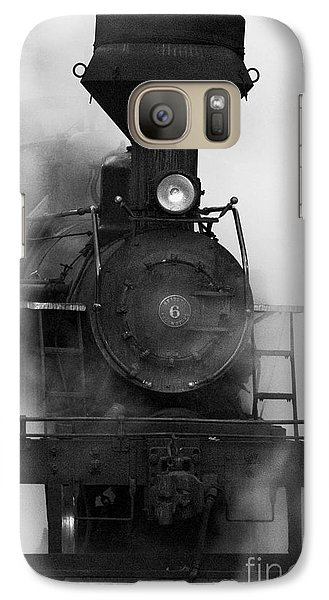 Galaxy Case featuring the photograph Engine No. 6 by Jerry Fornarotto