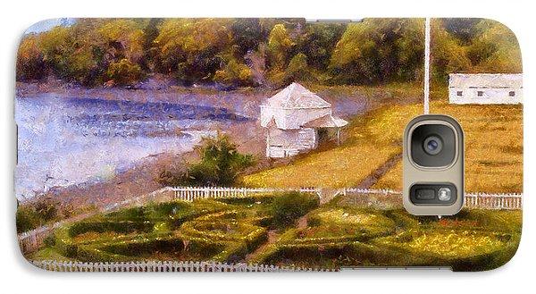 Galaxy Case featuring the digital art English Camp San Juan Island by Kaylee Mason