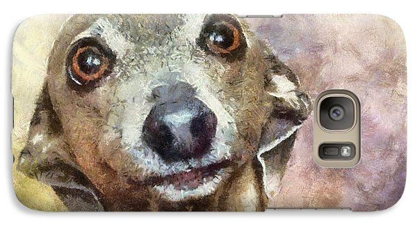 Galaxy Case featuring the painting English Hound Hunting Dog by Georgi Dimitrov