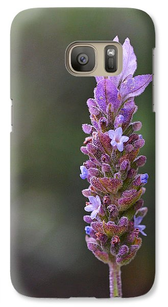 English Lavender Galaxy Case by Rona Black