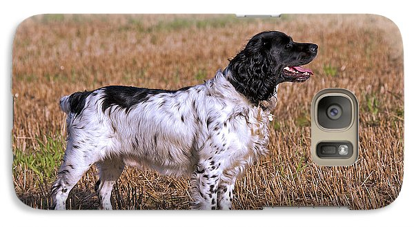Galaxy Case featuring the photograph English Springer Spaniel by Paul Scoullar